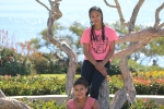 Nyja and Matdria sitting in a tree